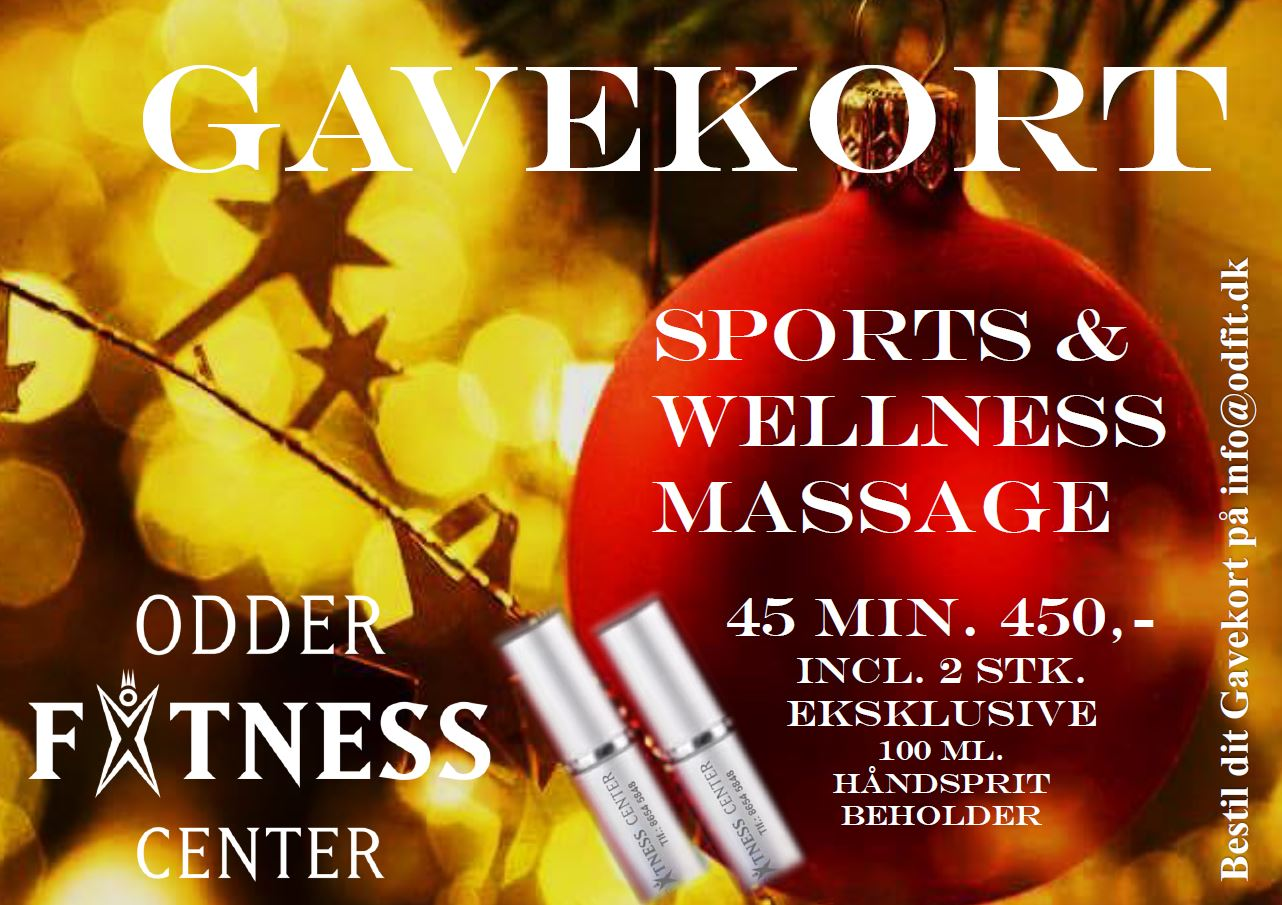 MASSAGE Gavekort jul 2020